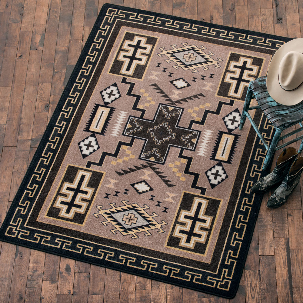 Double Cross Sandman Rug - 5 x 8