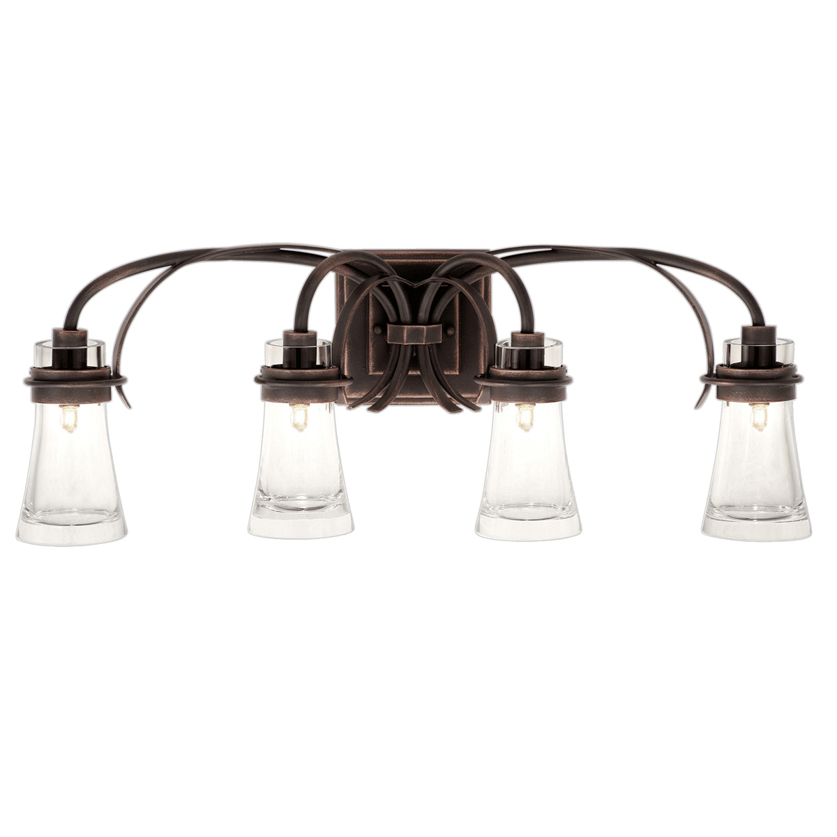 Dover 4 Light Vanity Lamp