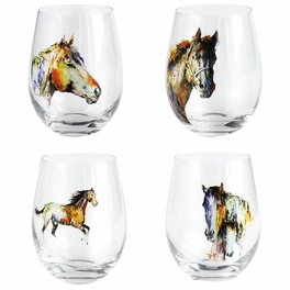 Dream Colors Stemless Glasses - Set of 4