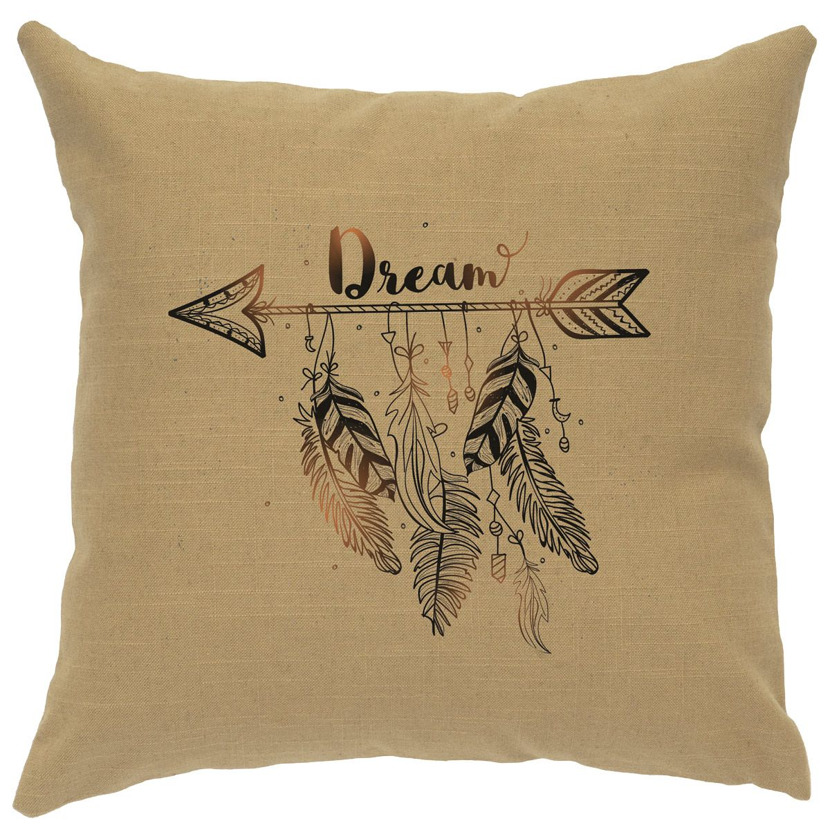 Dream Straw Linen Pillow