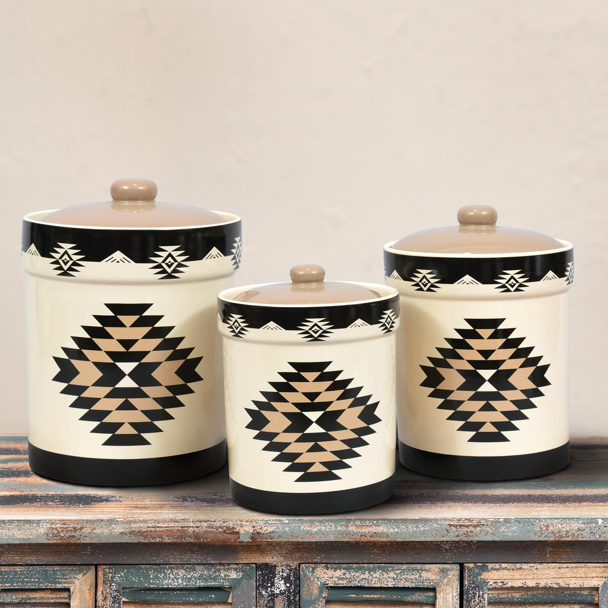Durango Diamond Canisters - Set of 3