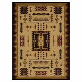 Eagle Bluff Ivory Rug Collection