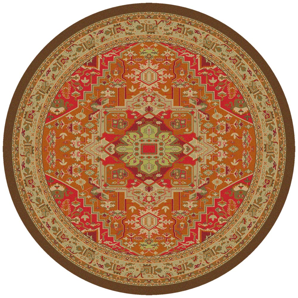 Earth Dance Rug - 8 Ft. Round