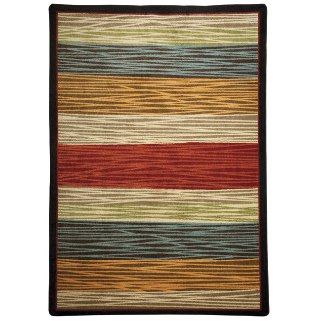 Earth Rhythms Multi Rug - 8 Foot Square