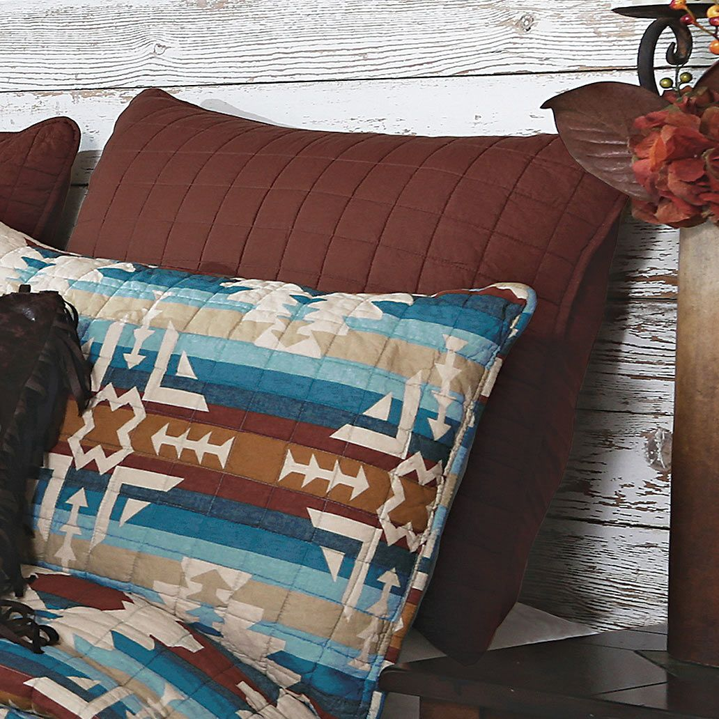 Earth & Sky Quilt Euro Sham - OVERSTOCK