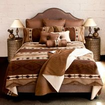 Echo Canyon Luxury Bed Set - Queen Plus