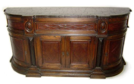 Elsa Leather Inlay Buffet