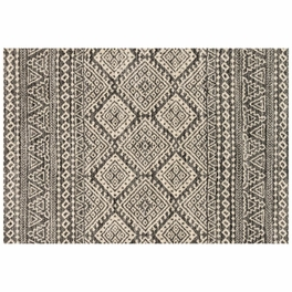 Emory Graphite Ivory Rug Collection