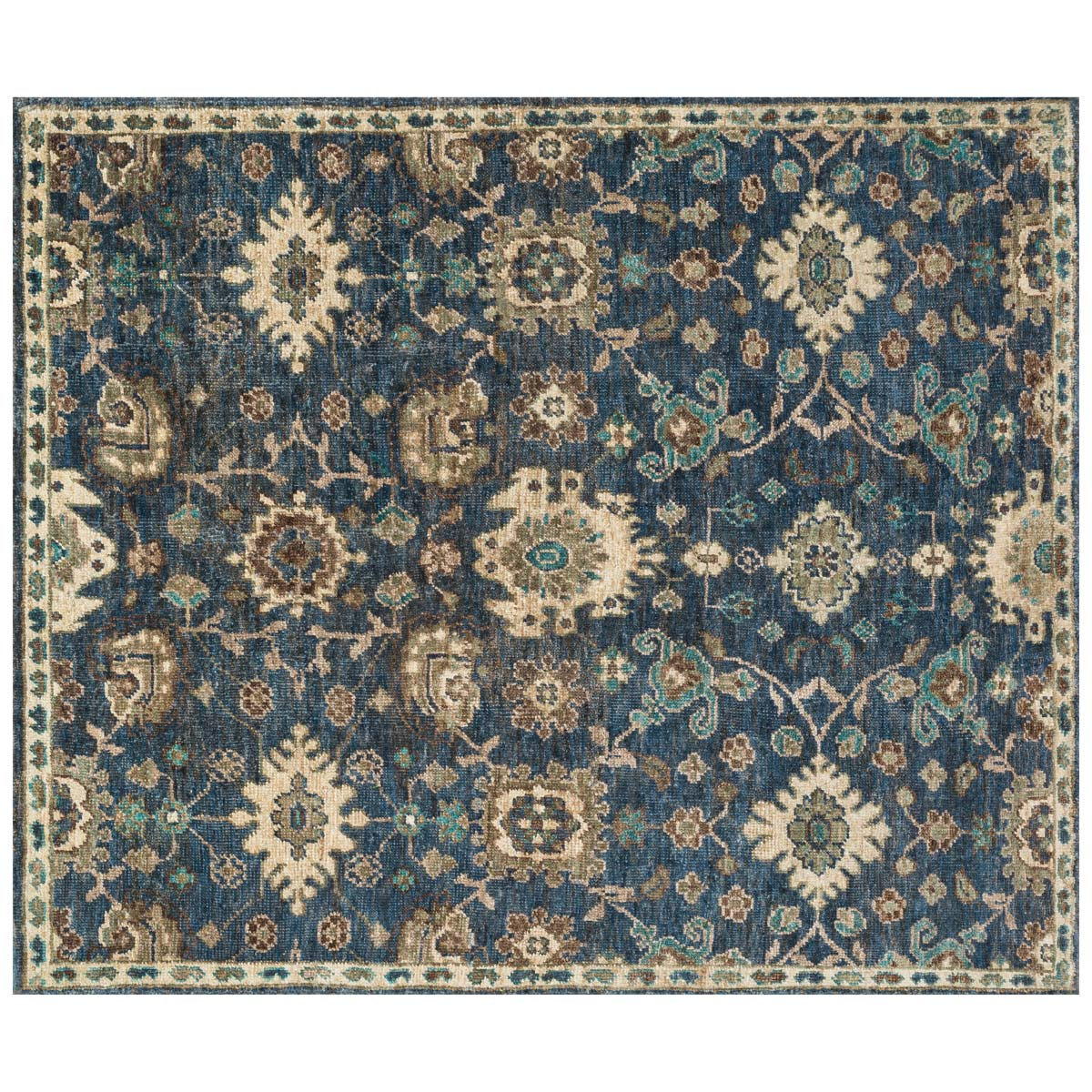 Empress Denim Beige Rug - 9 x 12