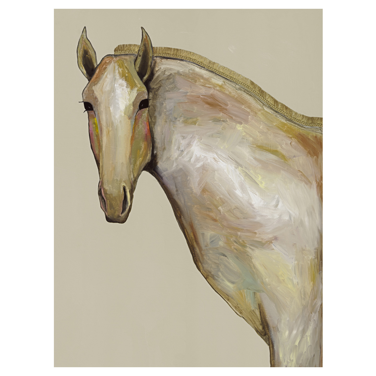 Equestrian Beauty Canvas Art