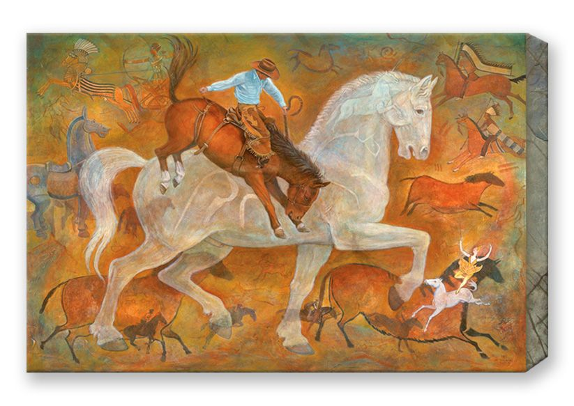 Equine Box Metal Art