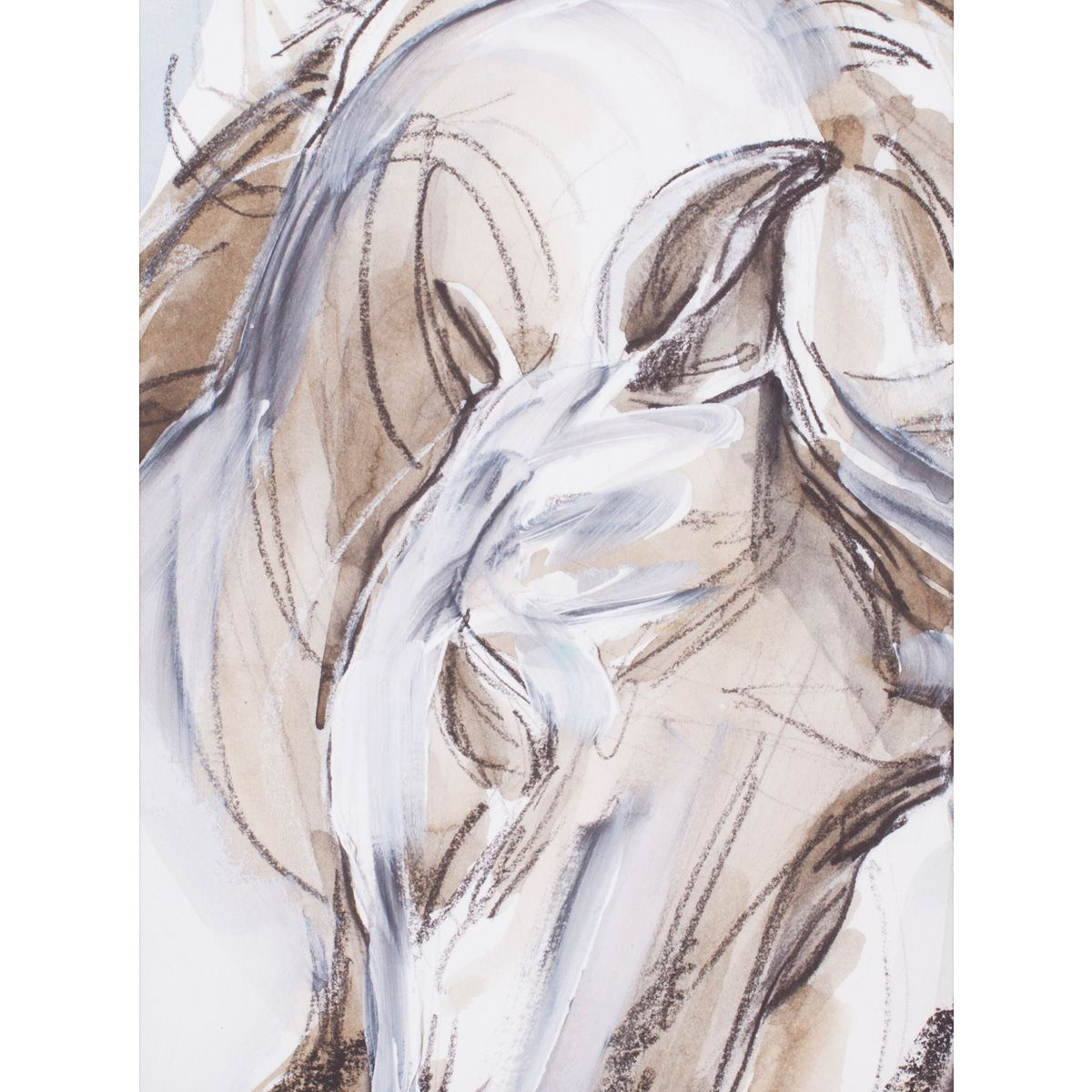 Ethereal Horse I Canvas Art