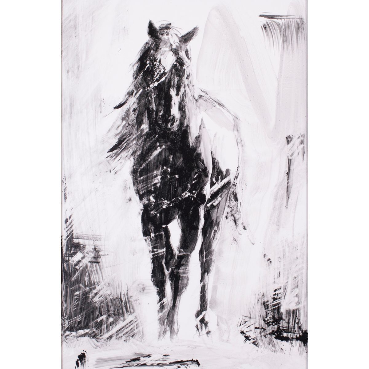 Ethereal Horse IV Canvas Art