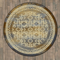 Faded Tribal Beauty Rug - 8 Ft. Round