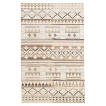 Faded Tribal Rug - 8 x 11