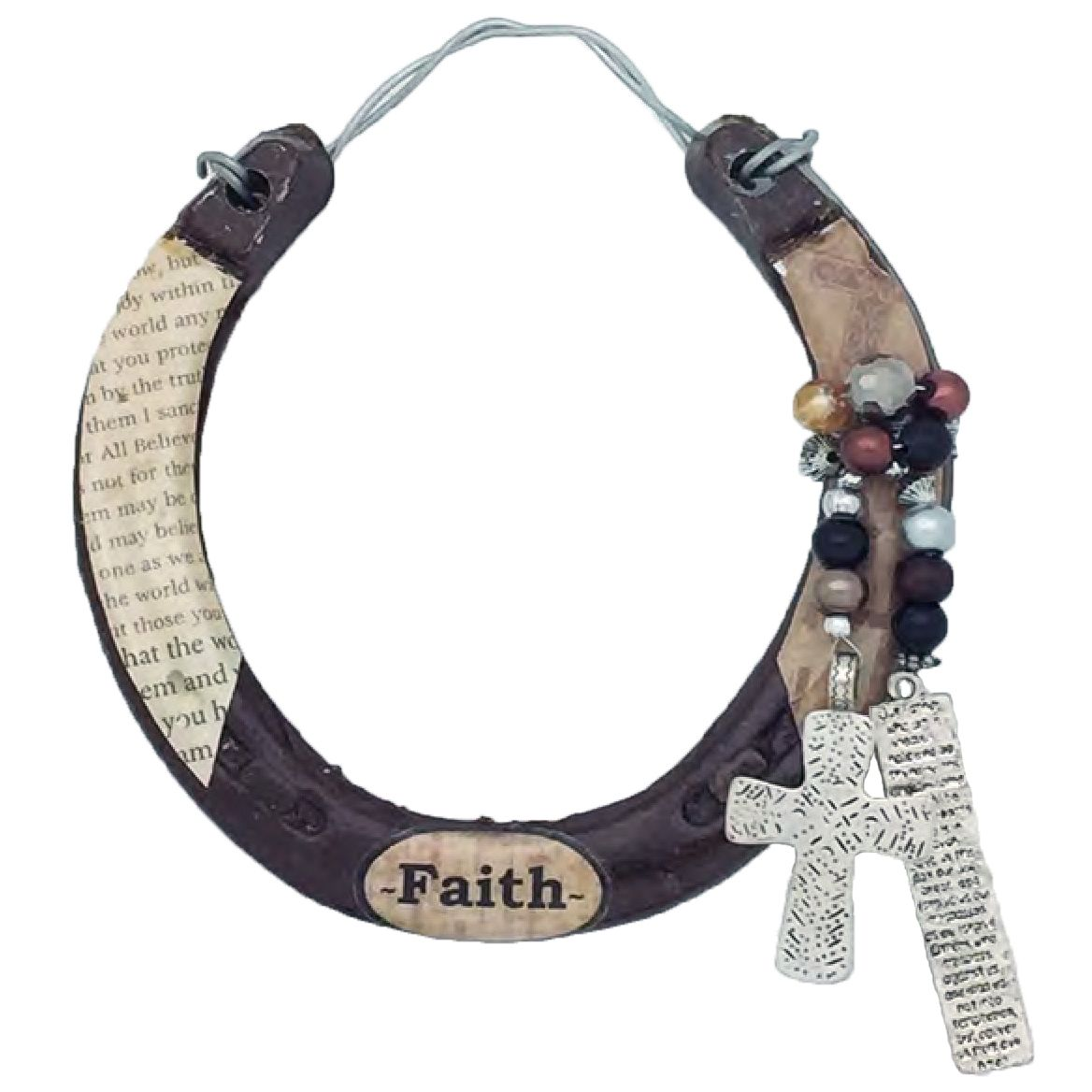 Faith Horseshoe Wall Art