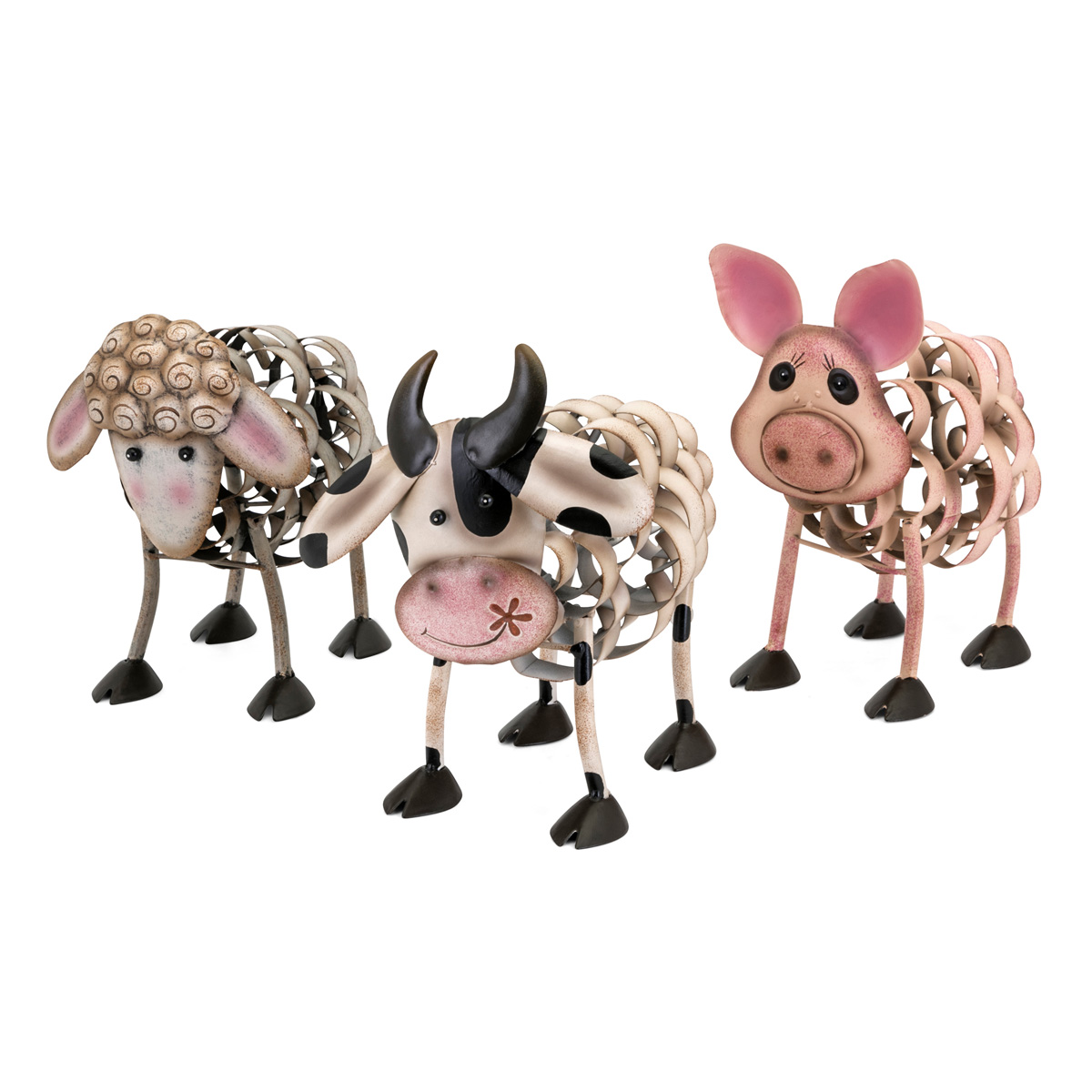 Farm Friends Statues - Set of 3