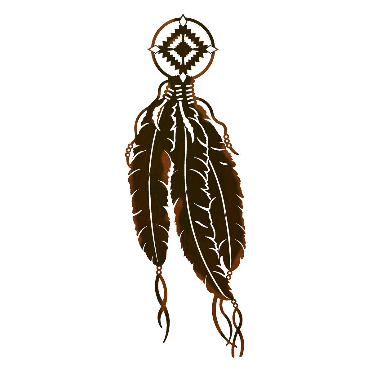 Feather 2 Metal Wall Art