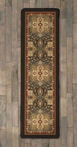 Feather Plains Lodge Rug - 2 x 8