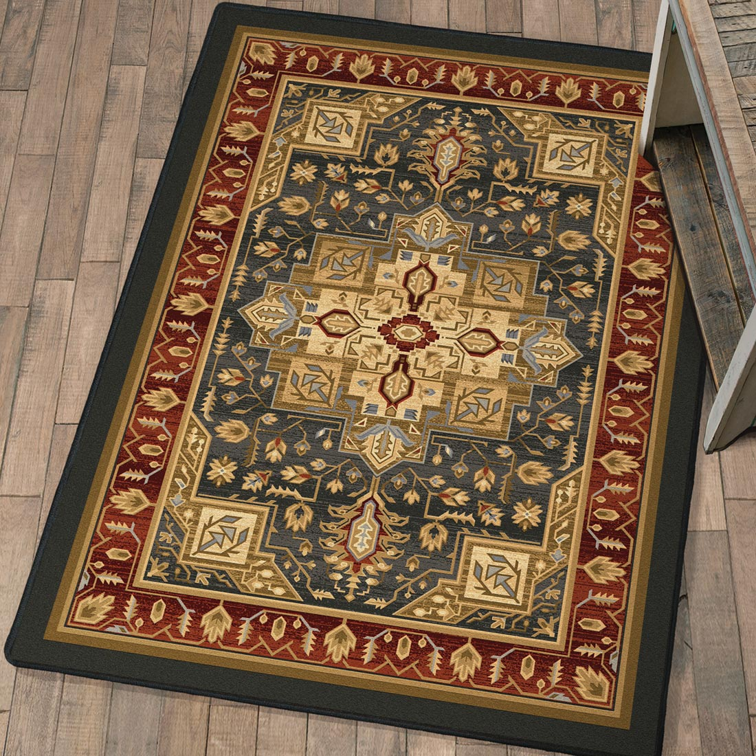 Feather Plains Lodge Rug - 8 x 11