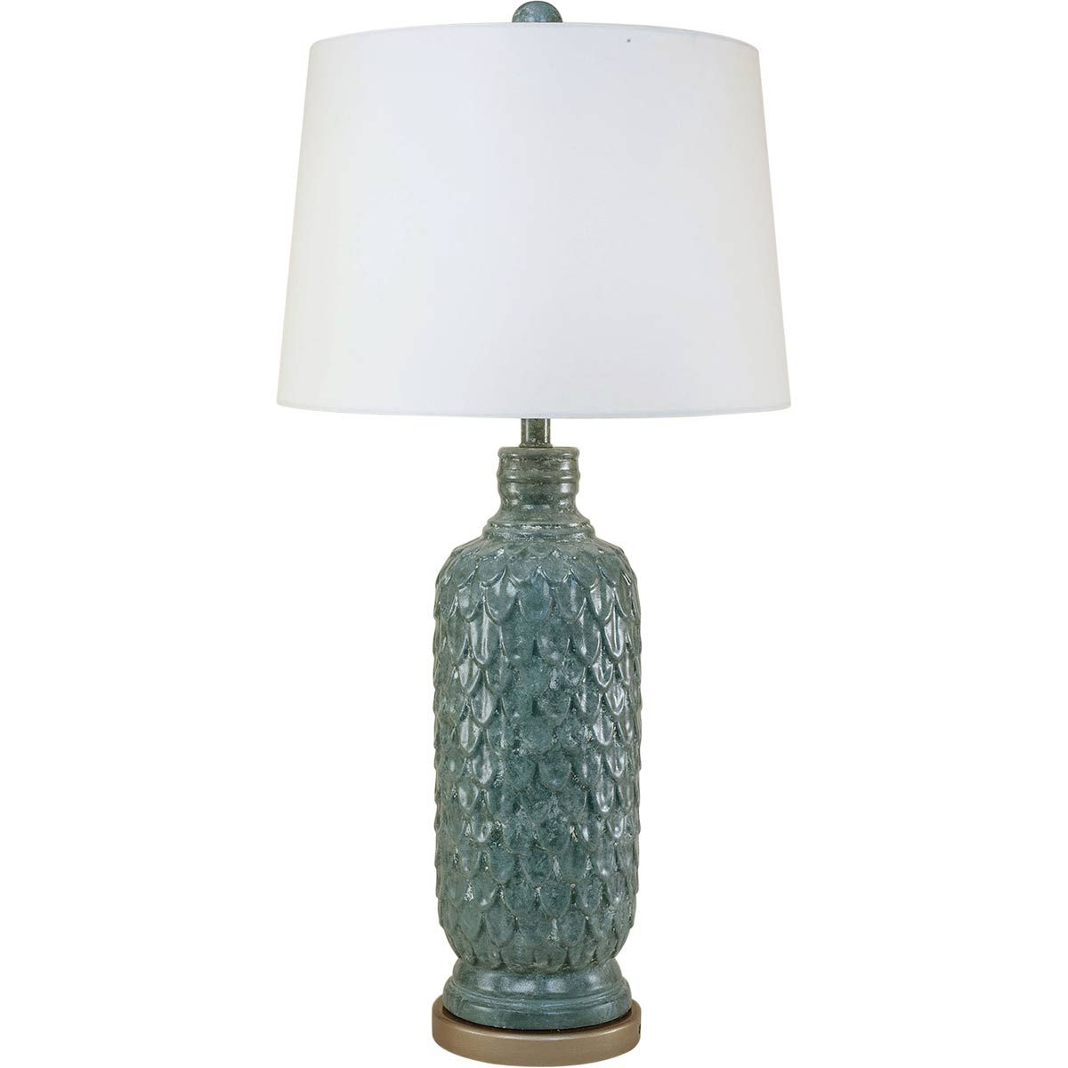 Feathered Table Lamp