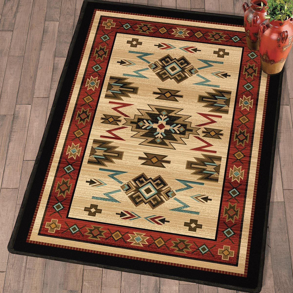 Fiery Gorge Canyon Rug - 3 x 4