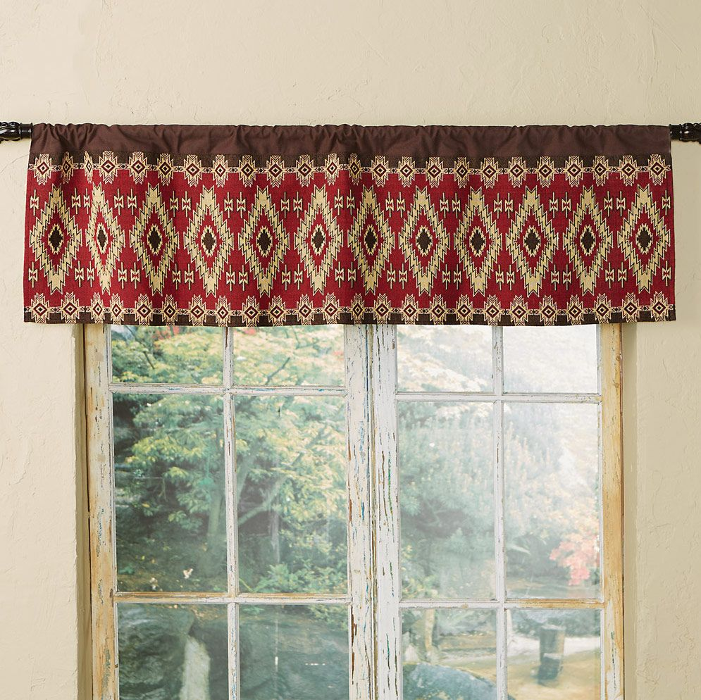 Fire Dance Valance - CLEARANCE