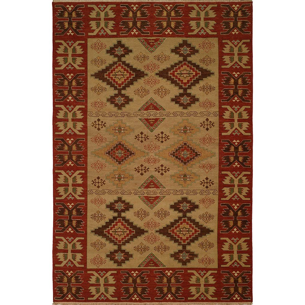 Fire Diamonds Rug - 3 x 10