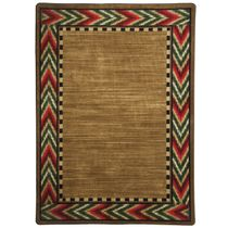 Flame Rug - 8 Foot Square