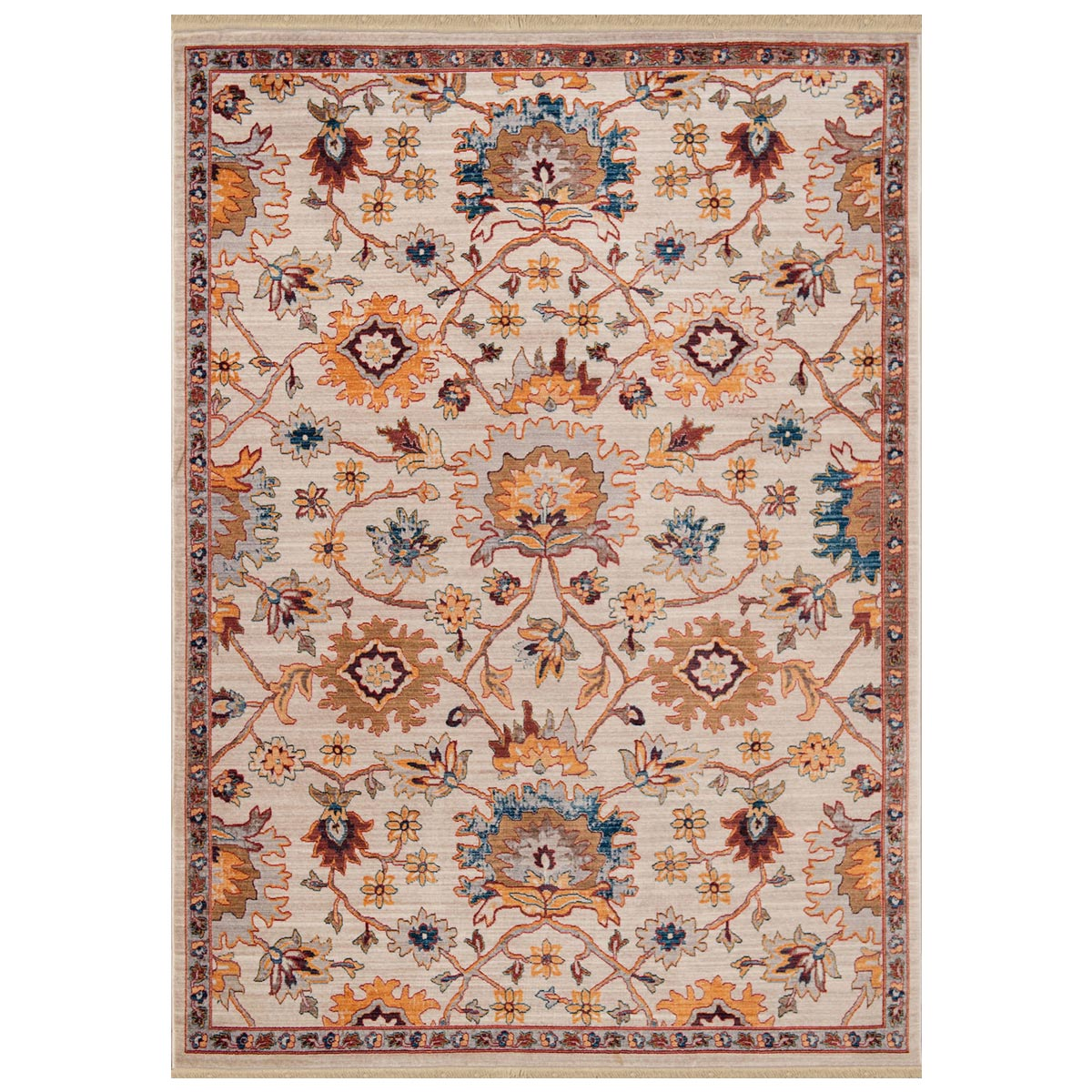 Floral Canyon Rug - 8 x 11