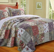 Floral Meadows Bed Set - Full