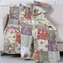 Floral Meadows Throw