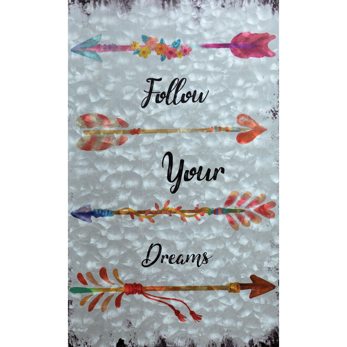 Follow Your Dreams Arrow Wall Art