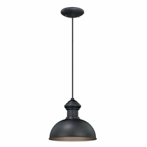 Founder Outdoor Pendant Light - Oil Burnished Bronze