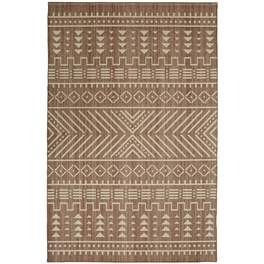Fredonia Geo Taupe Rug Collection
