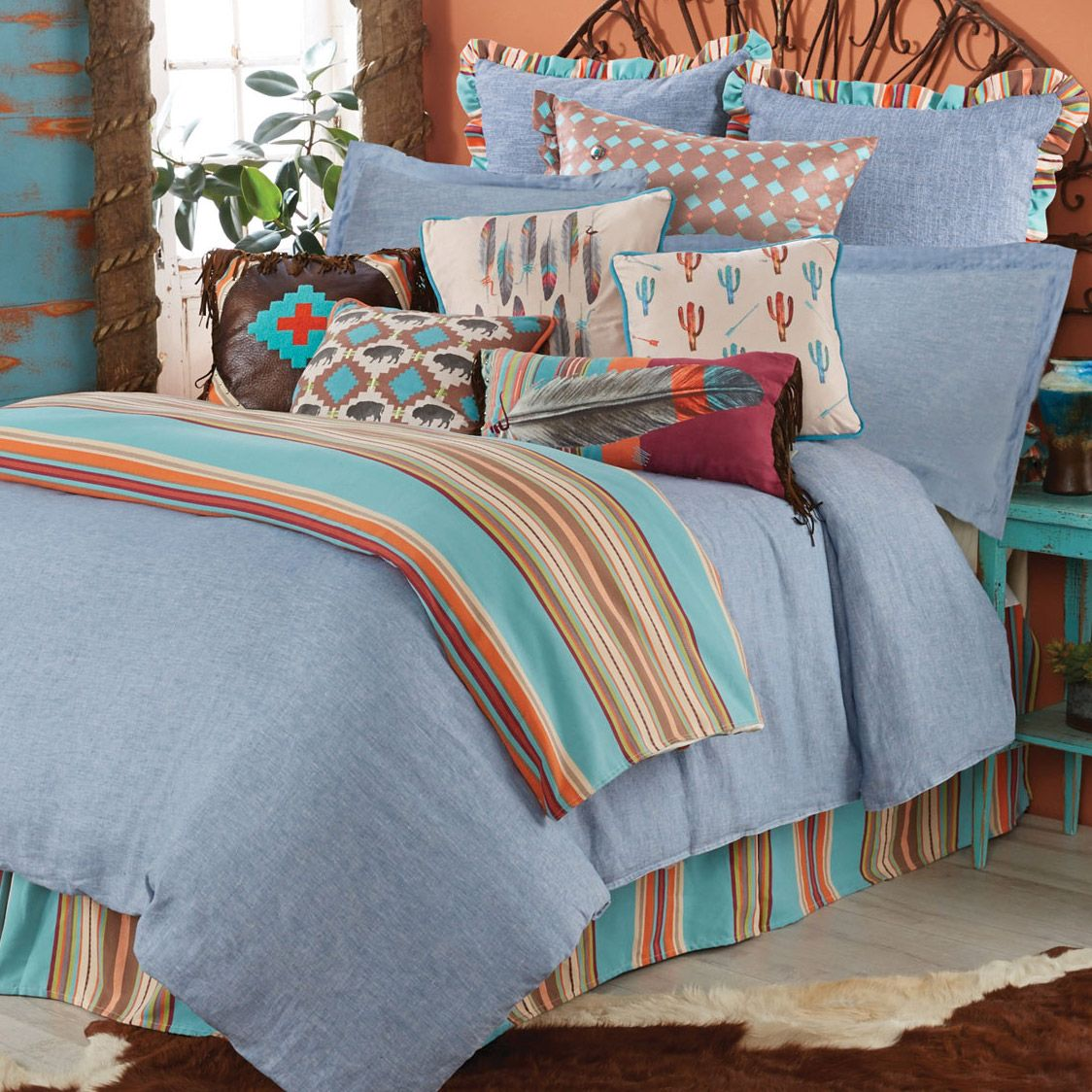 Free Spirit Bed Set - Super King