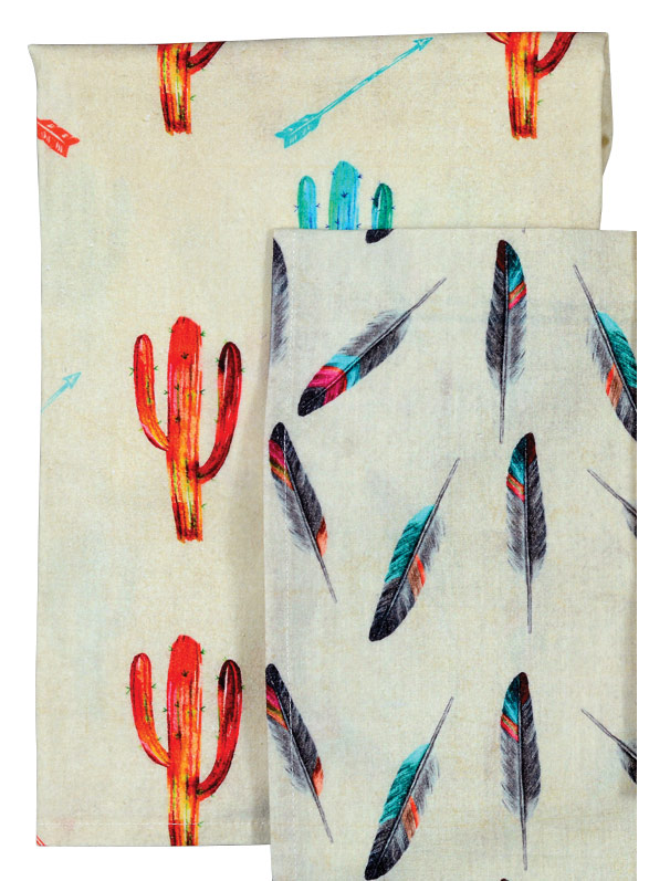 Free Spirit Cactus Tea Towel - CLEARANCE