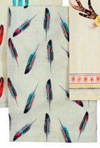 Free Spirit Feather Tea Towel - CLEARANCE
