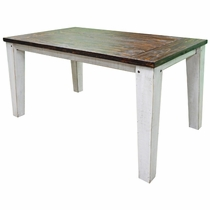Friar 6 Ft Dining Table - Weathered White