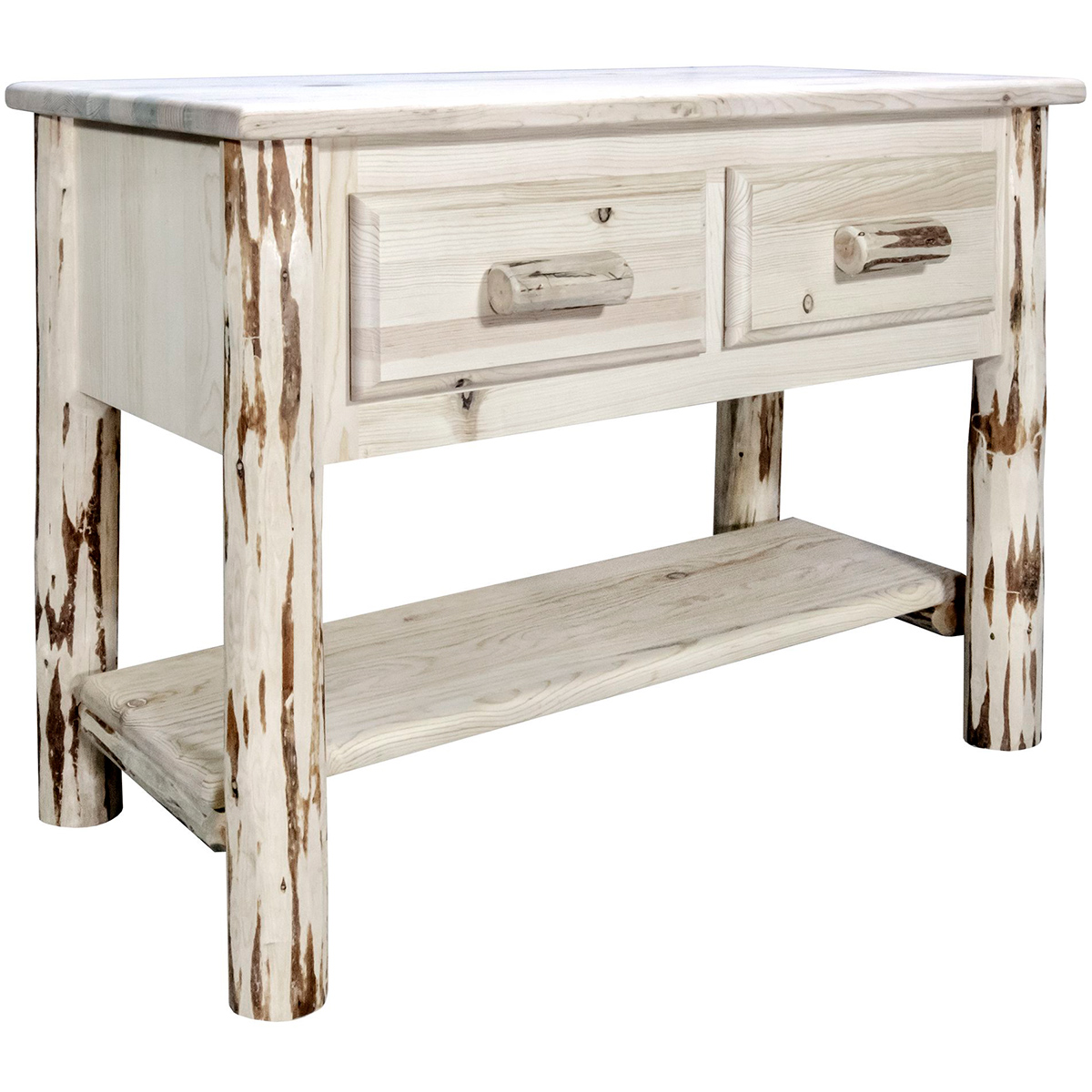 Frontier Console Table with 2 Drawers
