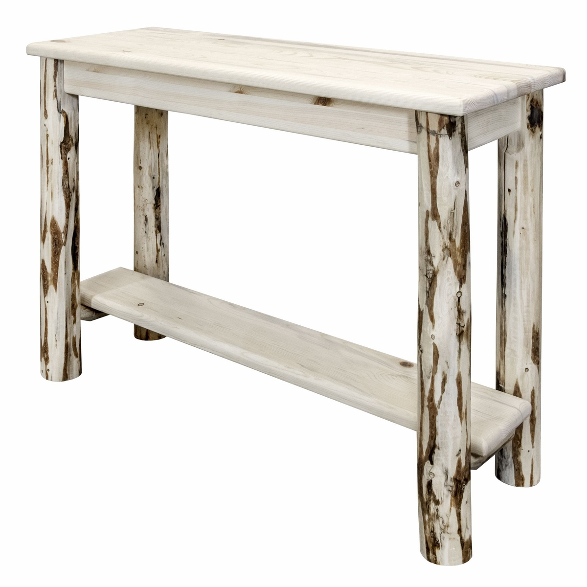 Frontier Console Table with Shelf