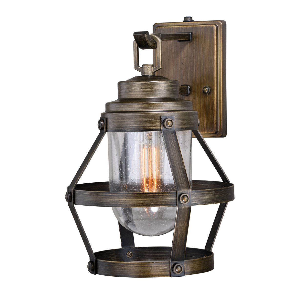 Rustic Wall Sconces Frontier Lantern Wall Sconce Medium