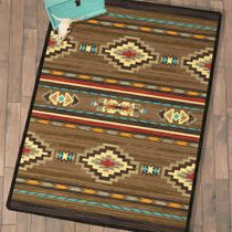 Frontier Outpost Rug - 5 x 8