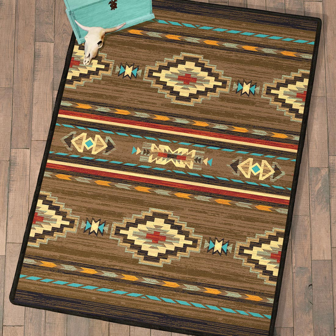 Frontier Outpost Rug - 8 x 11