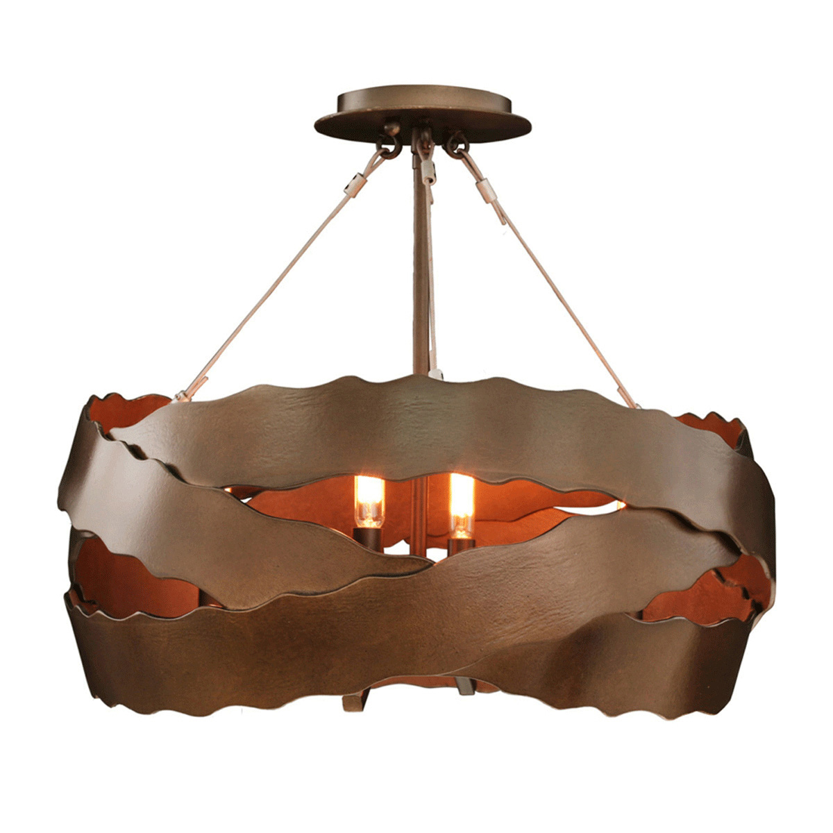 Fulton 5 Light Semi Flush Fixture
