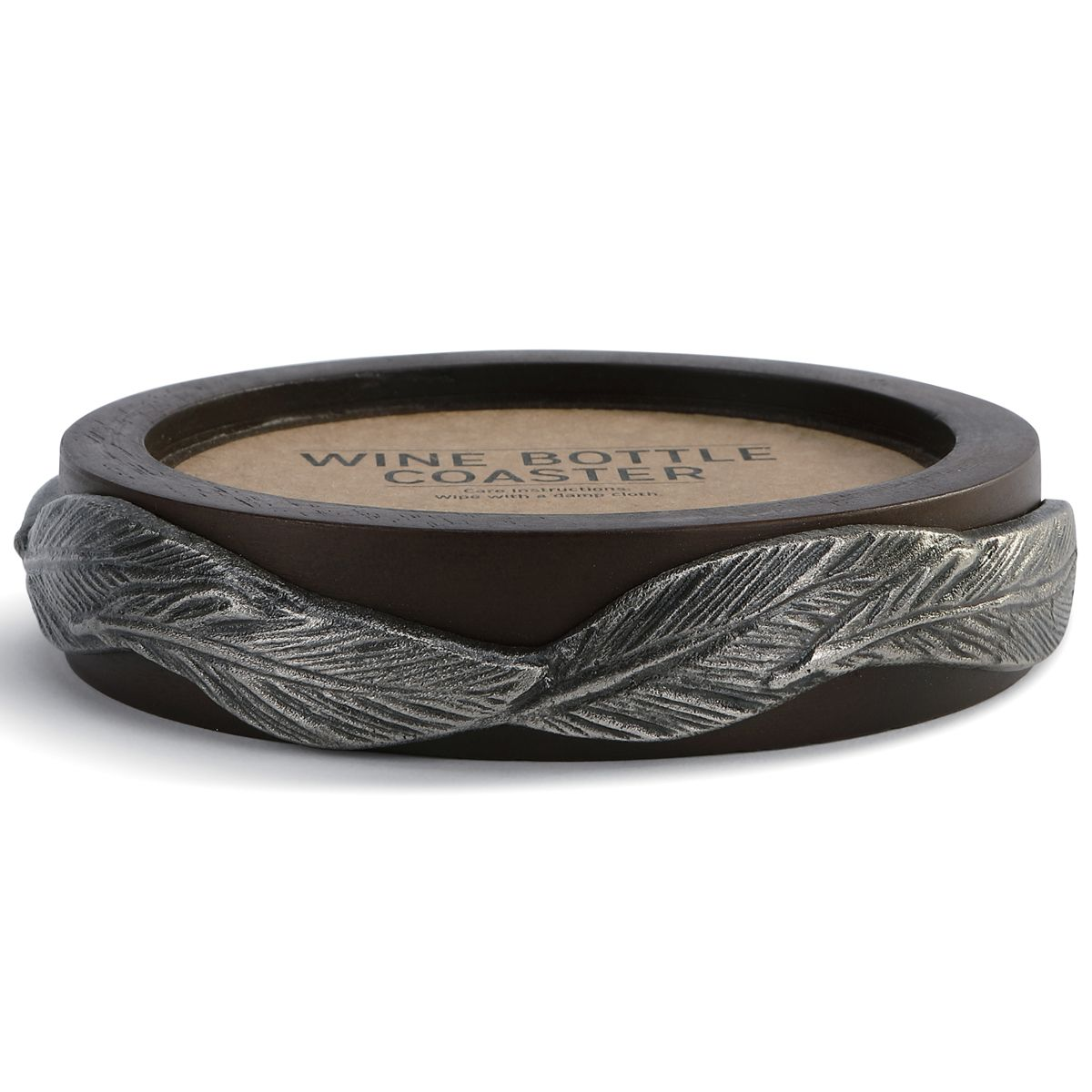 Galleria Feather Wine Coaster
