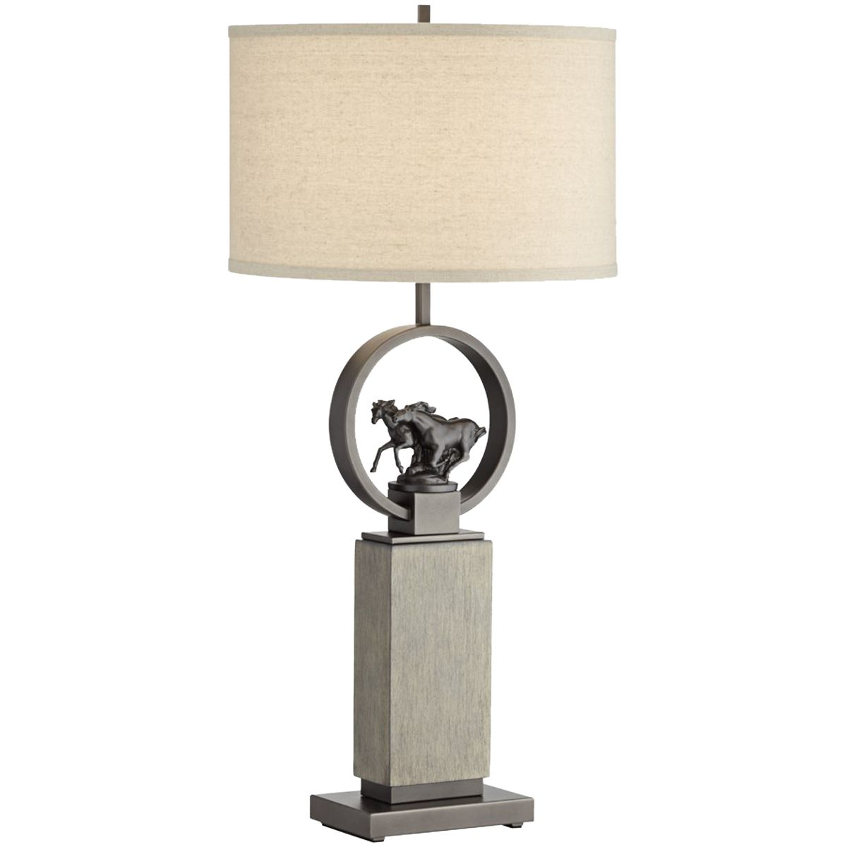 Galloping Pair Table Lamp