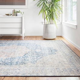 Genevieve Blue Rug Collection