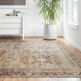 Genevieve Olive & Charcoal Rug Collection