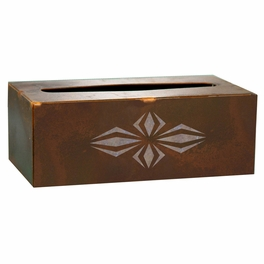 Geo Diamond Tissue Box Covers